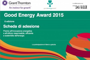 Good Energy Award 2015